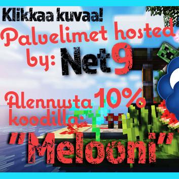 Alennusta Net9:ltä alennuskoodilla Melooni